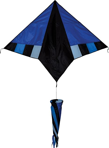 In the Breeze Blue Diamond Delta Kite