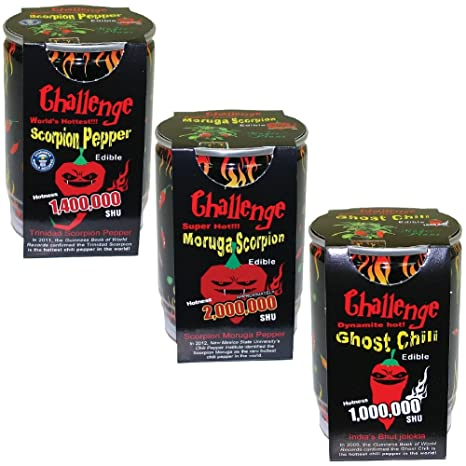 ghost pepper challenge