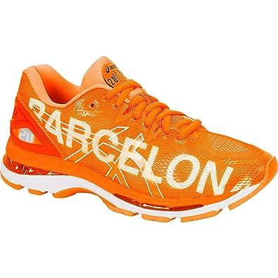 ASICS Gel Nimbus 20 Barcelona Men's Running Shoe, Barcelona2018Orange, 8.5 M US