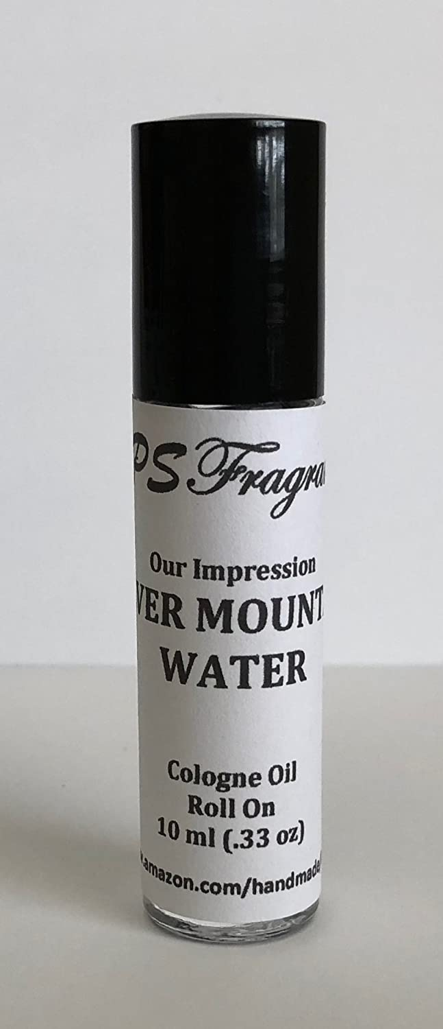 Creed Silver Mountain Water Impression by CPS Fragrances Men's Body Oil Roll On (10 ml)