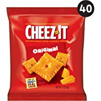40-Count Cheez-It Baked Snack Cheese Crackers (Original)