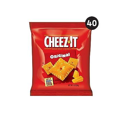 Cheez-It, galletas de queso para aperitivos al horno ...
