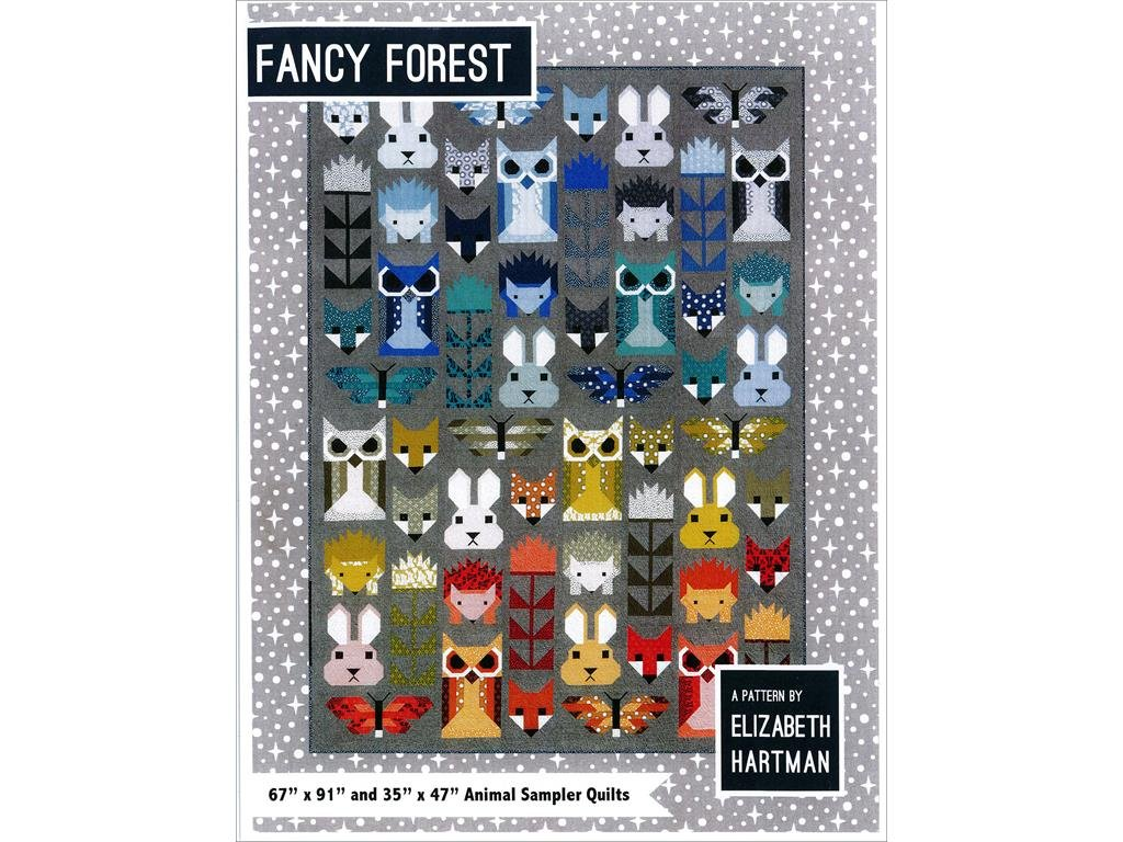 Elizabeth Hartman EH Fancy Forest Ptrn, Multi by Elizabeth Hartman