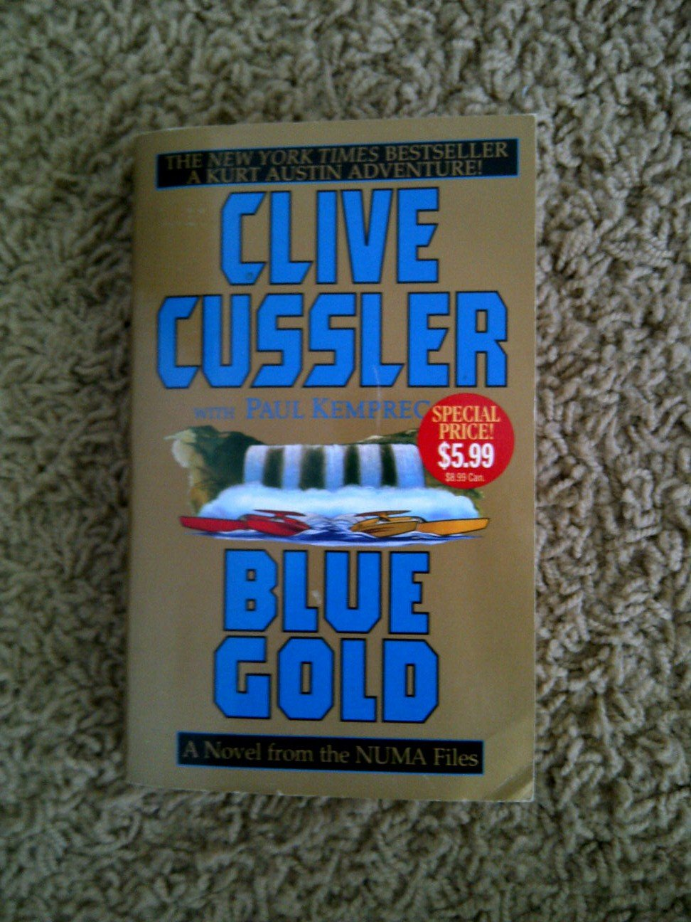 Blue Gold: A Novel from the NUMA Files pdf epub