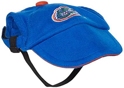 848f30822ee5f Amazon.com   Sporty K9 Collegiate Florida Gators Dog Cap
