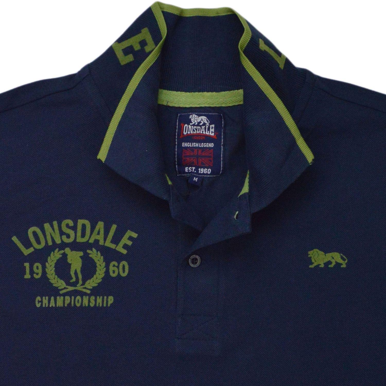 Lonsdale - Polo - para hombre Azul oscuro Medium: Amazon.es: Ropa ...