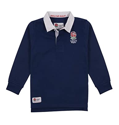 15cc60f8b6c England Rugby Children's Classic Rugby Jersey: Amazon.co.uk: Clothing