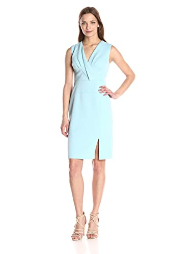 Adrianna Papell Women's Sleeveless Sheath Drs