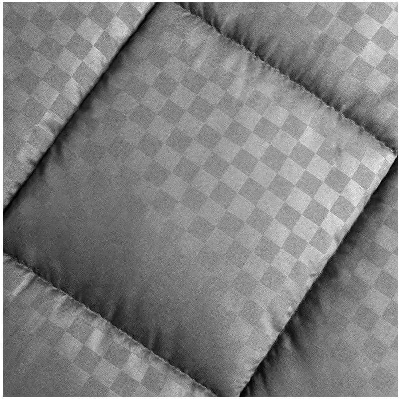 Double Face /ét/é Hiver 140/_x/_200/_cm Sampur Couette Soft Grise 100/% Polyester
