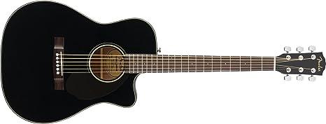 CC 60SCE Guitarra negra: Amazon.es: Instrumentos musicales
