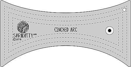 6mm Sariditty 4 Piece Arc Ruler Template Set Longarm