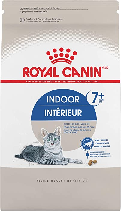 Royal Canin Indoor 7+ Adult Dry Cat Food, 2.5 lb.