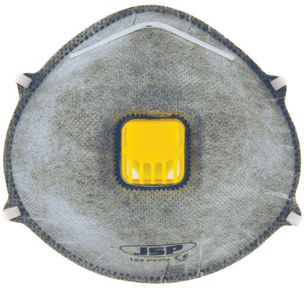 JSP BEK150-001-000 Moulded Odour Valved Disposable Mask FFP2 (Pack of 10) AutoMotion Factors Limited