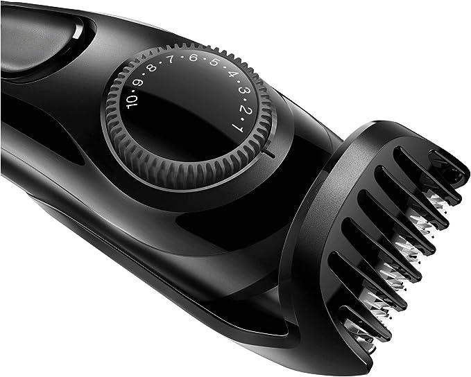 Braun BT3020 - Máquina Cortar Pelo, Recortadora de Barba, Recargable de Precisión con 20 Ajustes de Longitud, Negro, Batería: Amazon.es: Salud y cuidado personal