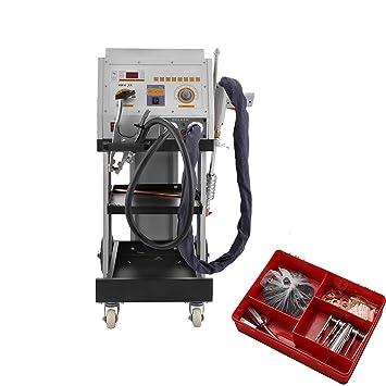 Moracle Máquina de Soldadura de Pernos 5600AMP Doble Antorcha de Soldadura Panel del Vehículo Tirador de Puntos Dent Spotter para Reparación de ...