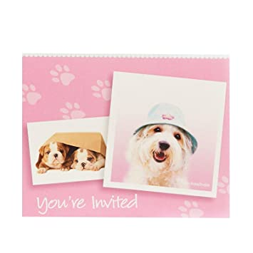 rachael hale glamour dogs party supplies invitations 8 - Dog Party Invitations