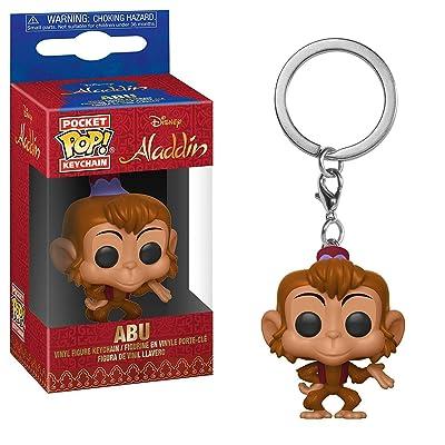 Funko 35927 Pop! Keychain: AladdinAbu, Multicolor: Toys & Games