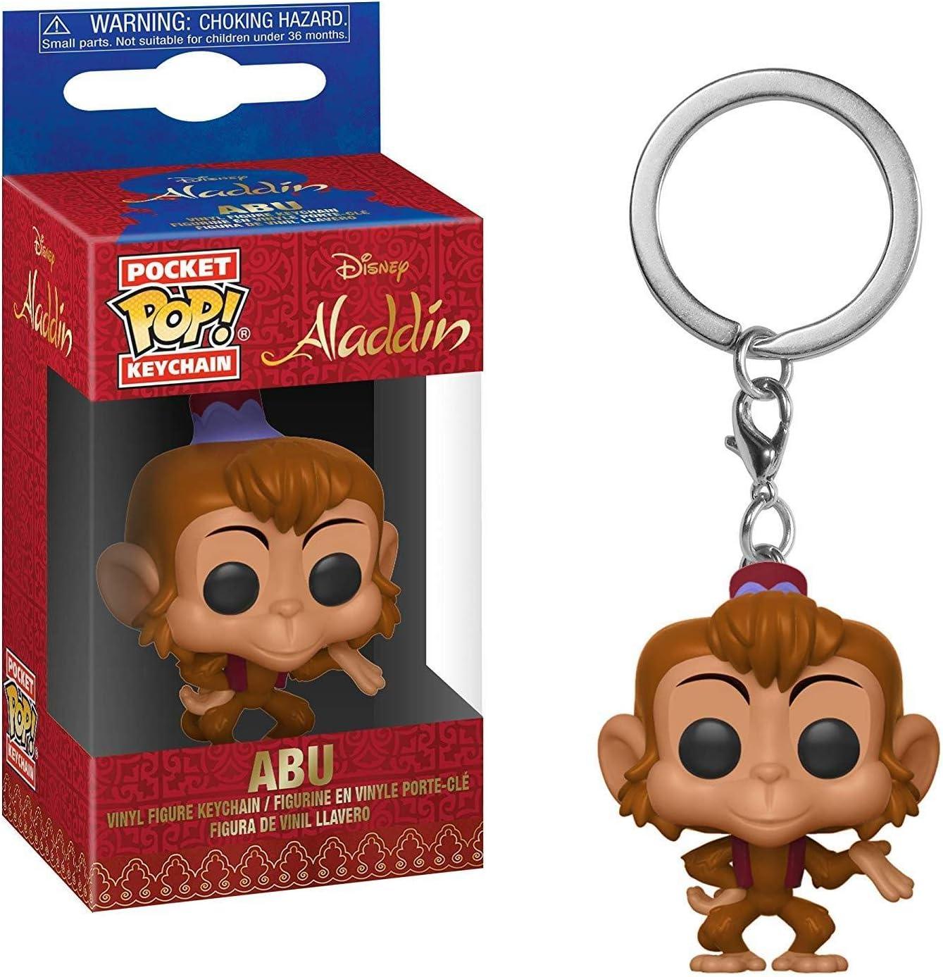 Amazon.com: Funko Pop! Llavero: Aladdin - Abu: Toys & Games