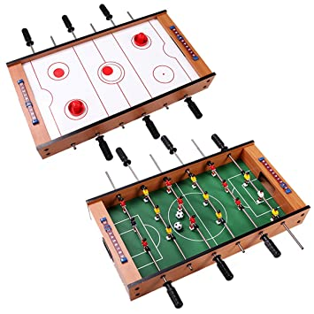 Giantex Multi Game Table Pool Air Hockey Foosball Table Tennis Billiard  Combination Game Table (2