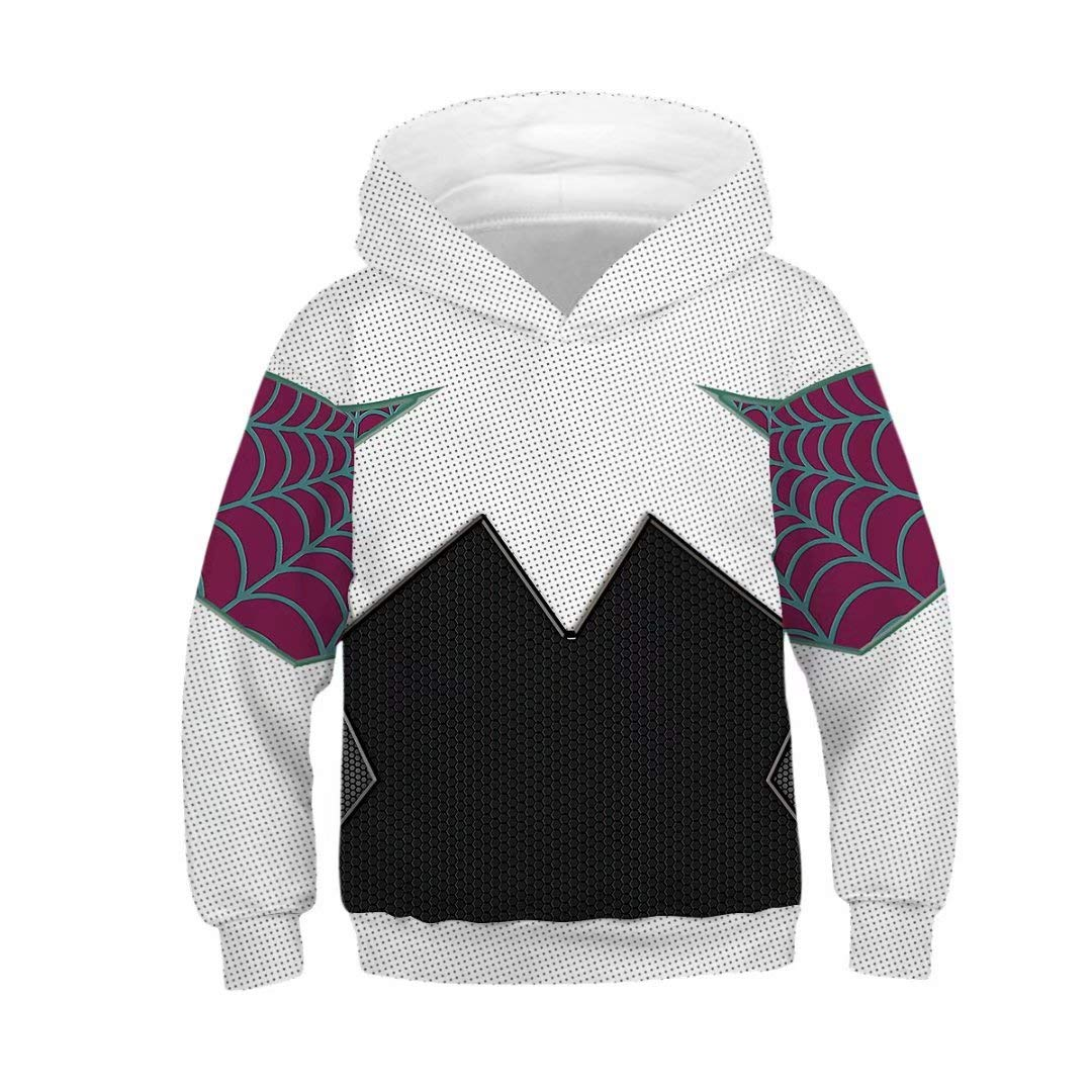 Tsyllyp Boys and Girls Popular Hoodies 3D Printed Pullover Hooded Sweatshirts
