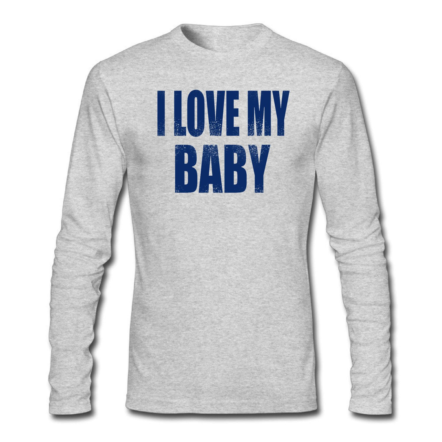 Fpping Mens I Love My Baby Custom T Shirt At Amazon Mens Clothing