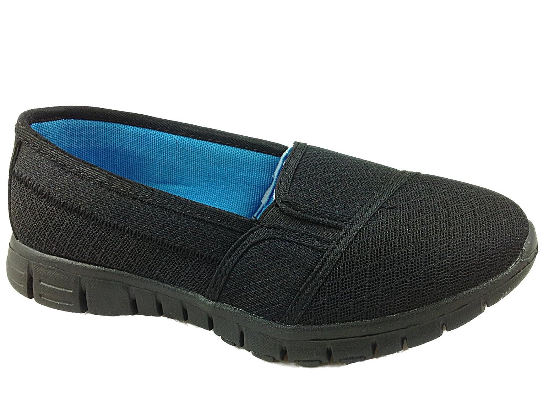 TALLA 5 UK. Mujer Go Caminar Get Fit Zapatillas Deporte Zapatos atléticos Zapatos de Caminar Deporte Gimnasio Dek
