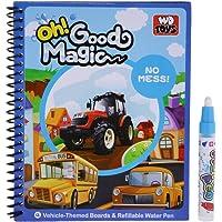 Blesiya Kid Water Painting Drawing Mat Board Book Magic Pen Educational Toys Learning - Traffic Vehiles