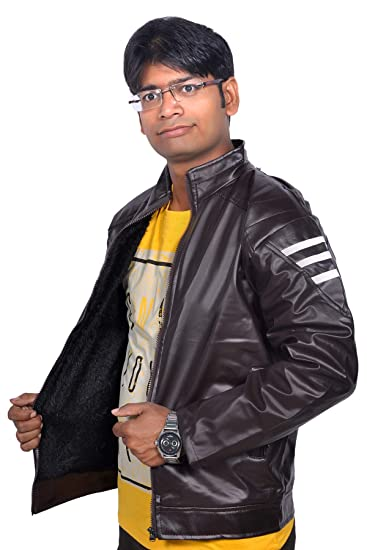 37f360a5109 Ajeraa Men's Solid Full Sleeves Zipper Jacket: Amazon.in: Clothing &  Accessories