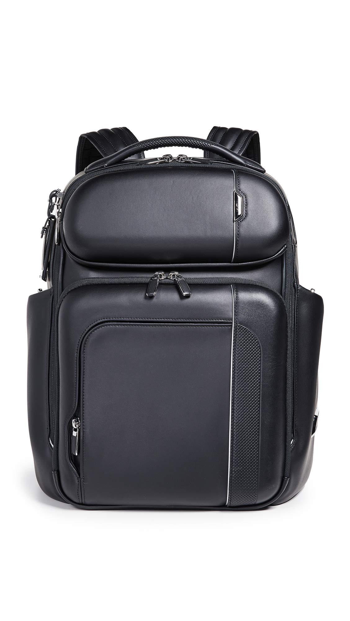 Tumi Men's Arrivé Barker Backpack, Black, One Size