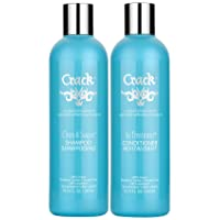 CRACK HAIR FIX - Clean & Soaper Shampoo and In-Treatment Conditioner Set (10 oz)