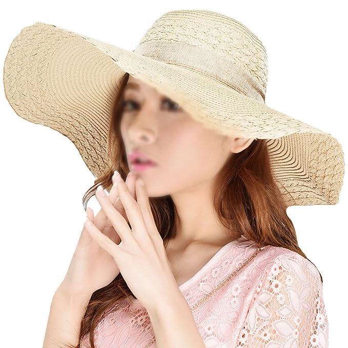 e8be40936f5d1 La Haute - Sombrero de paja para mujer