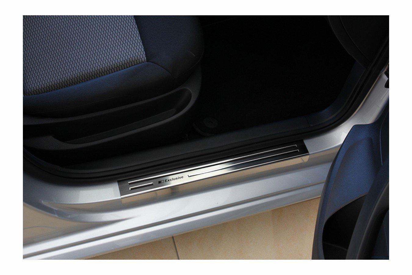 Tuning-Art 970 Exclusivos Protectores de umbral de Puerta en Acero