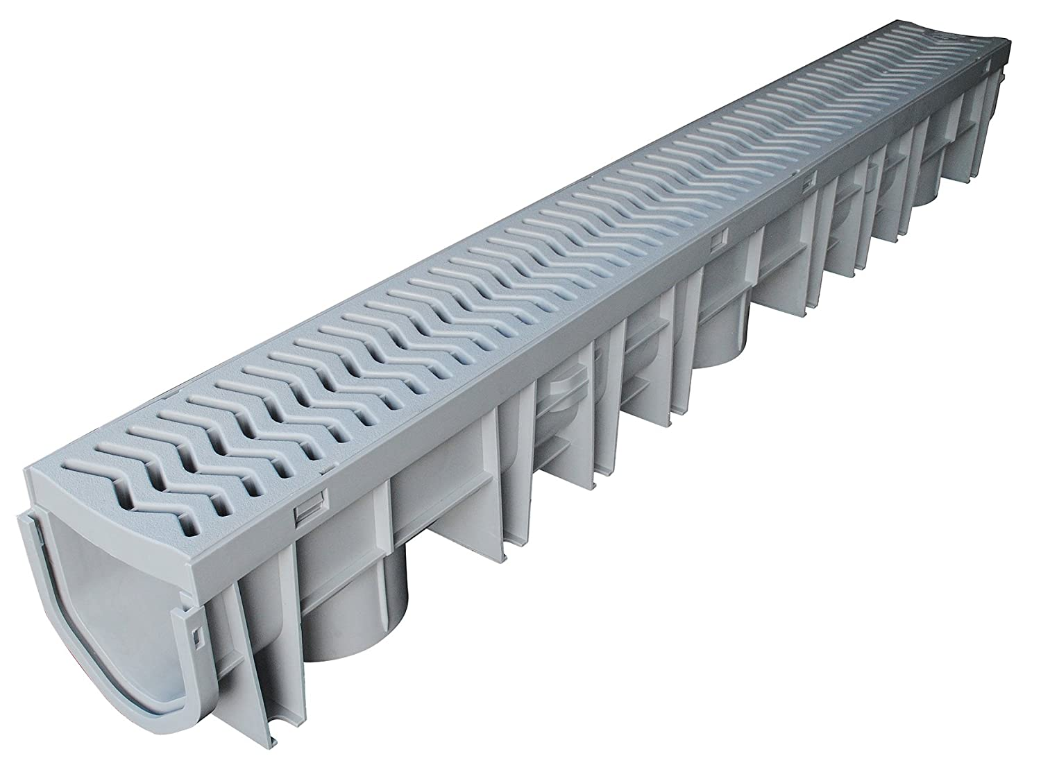 Fernco FSDP-CHGG StormDrain Plus Channel and Grey Grate Assembly 70%OFF