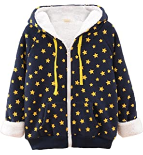 XILALU Kid Infant Baby Boys Girl Cartoon Ear Hooded Pullover Tops Warm Solid Cotton Zipper Long Sleeve Clothes Coat 6M-4T