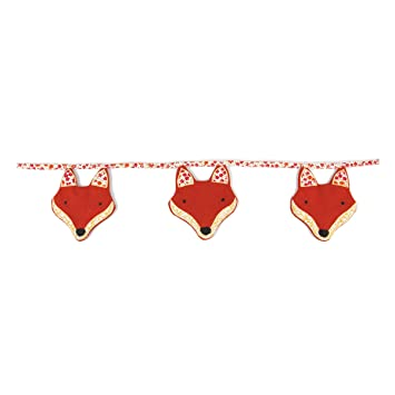 Sass U0026 Belle Fabric Bunting   Paddy The Fox