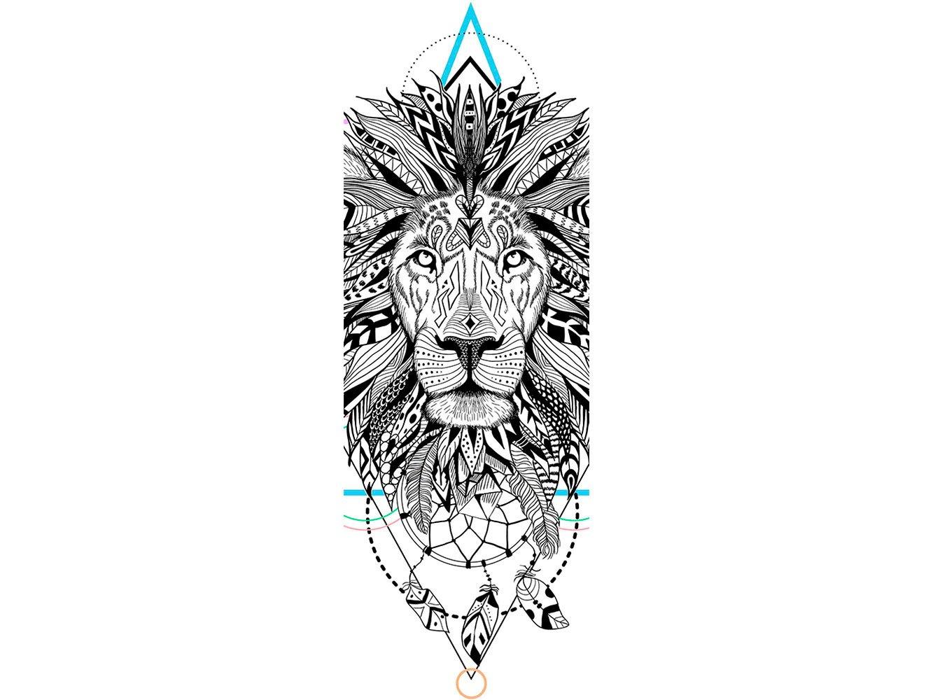 Oedim Vinilo para Frigorífico León Atrapa Sueños 185 x 60 cm ...