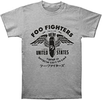 FEA Men's Foo Fighters Winged Bomb Nothing Left to Lose T-Shirt