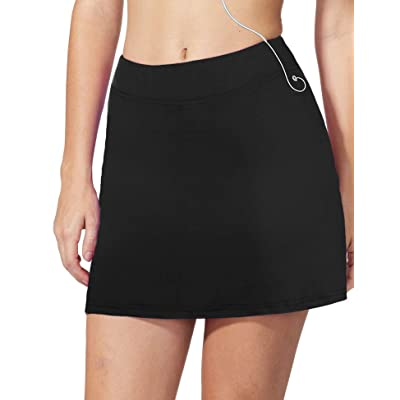 iClosam Women Skort Active Athletic Lightweight Skirt for Running Tennis Golf Workout Sports: Clothing
