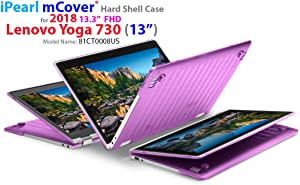 "mCover Hard Shell Case for New 2018 13.3"" Lenovo Yoga 730 (13) Laptop (NOT Compatible with Yoga 710/720 / 910/920 Series) (Yoga 730 Purple)"