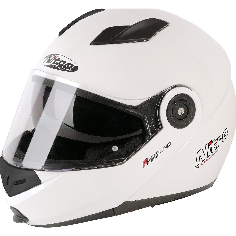 F345 ECE22.05 Certified Motorbike Flip up Full Face Jet Crash Helmet Designer Stylish Motorcycle Moped Sun Visor