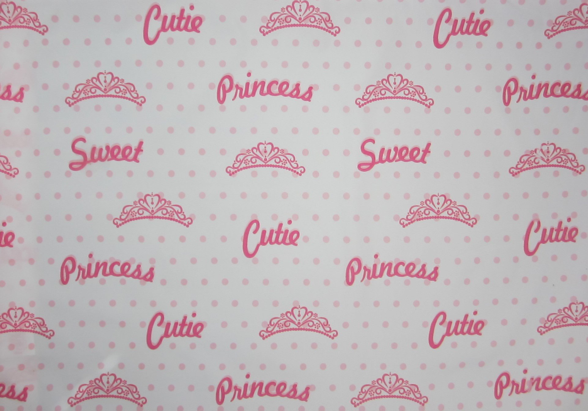 Princess Kitty 100% Polyester (Flat Sheet ONLY) Size Full Girls Kids Bedding