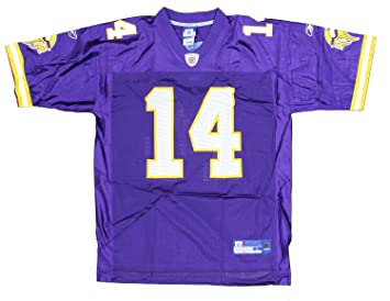 Reebok New Orleans Saints Darren Sharper 42 Black Authentic Jersey Sale NFL  Pinterest Minnesota Vikings Brad Johnson 14 NFL Mens Replica Jersey 9330dc99d
