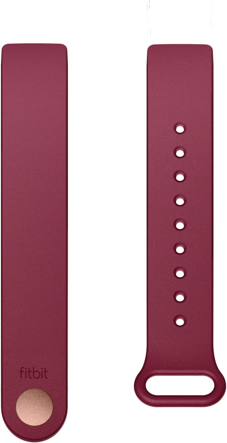 Fitbit Inspire Classic Accessory Band, Official Fitbit Product, Sangria, Large