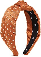 Lele Sadoughi Women's Star Studded Silk Knotted Headband