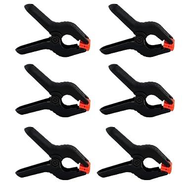 Cheaplights - Heavy Duty Muslin Clamps 4 1/2 inch 6 Pack