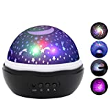 Amazon Price History for:ANTEQI Star Lighting Lamp 4 LED Bead 360 Degree Romantic Room Rotating Cosmos Star Projector With 59 Inch USB Cable, Light Lamp Starry Moon Sky Night Projector Kid Bedroom Lamp (Rose Black)