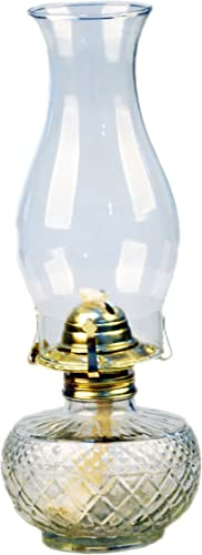 Mayflower Products Vintage Glass Oil Lamp Large