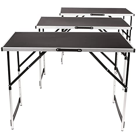 Tavoli Pieghevoli Fai Da Te.Tavolo Estraibile Tavolo Pieghevole Tavolo Da Lavoro Set Da 3
