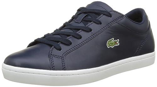 Lacoste Straightset Bl 1 SPW Nvy, Zapatillas para Mujer: Amazon.es: Zapatos y complementos
