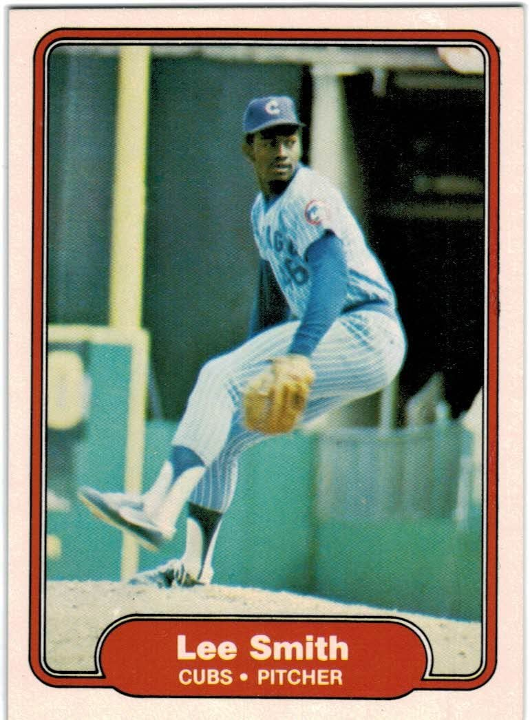 1982 Fleer Chicago Cubs Team Set with Lee Smith RC /& Bobby Bonds 22 Cards